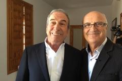 Dos grandes de Cuenca: José Luis Perales y Miguel Romero