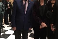 Miguel Romero y la Reina Emérita Sofía