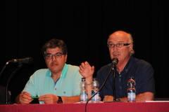 Miguel Romero en el I Encuentro de Amigos de la Historia de Cuenca (Sisante) - Fotos de José Sáiz Valero III