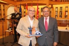 Miguel Romero. Premio Policía Local 2019.
