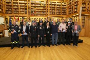 Reconocimiento Policía Local a Miguel Romero
