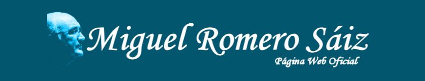 Miguel Romero Sáiz - Página Web Oficial logo