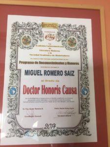 14. Doctor Honoris Causa México