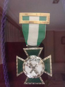 19. Medalla Mérito Guardia Civil
