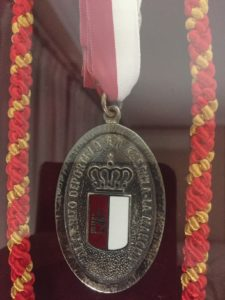 5. Medalla de Plata al Mérito Deportivo