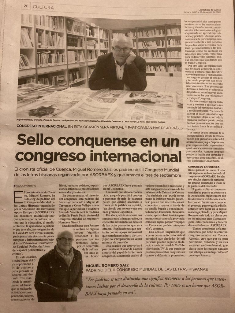 II Congreso Internacional Letras Hispanas