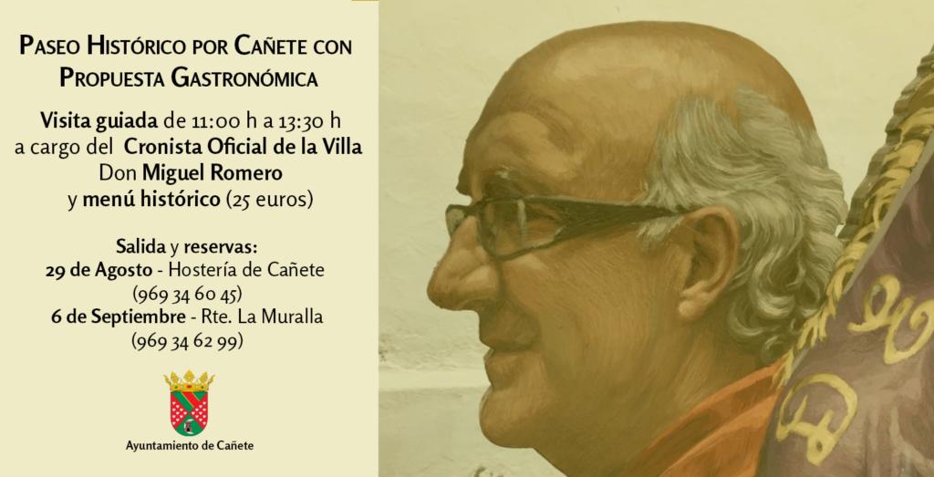 Paseo Histórico por Cañete con Propuesta Gastronómica